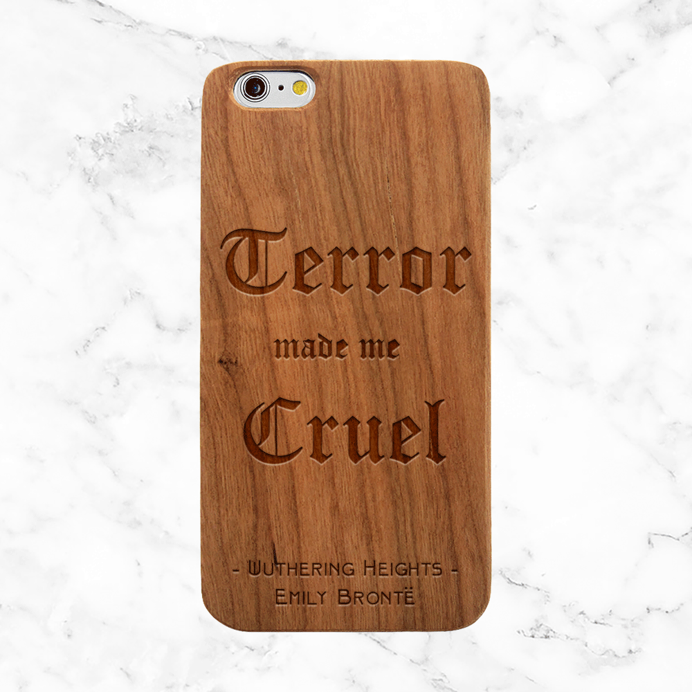 Terror Made Me Cruel iPhone Case
