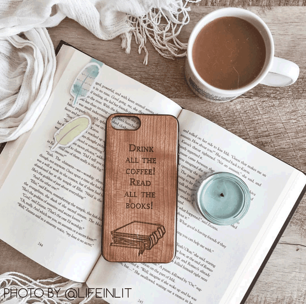 @lifeinlit phone case
