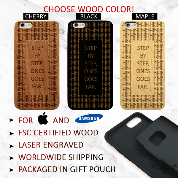 Step by Step Recovery -  Wood iPhone and Galaxy Case