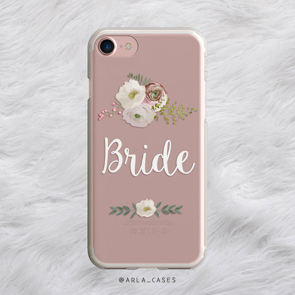 Floral Bride iPhone Case
