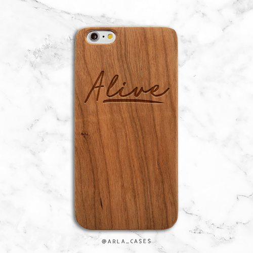 Alive Wood iPhone Case