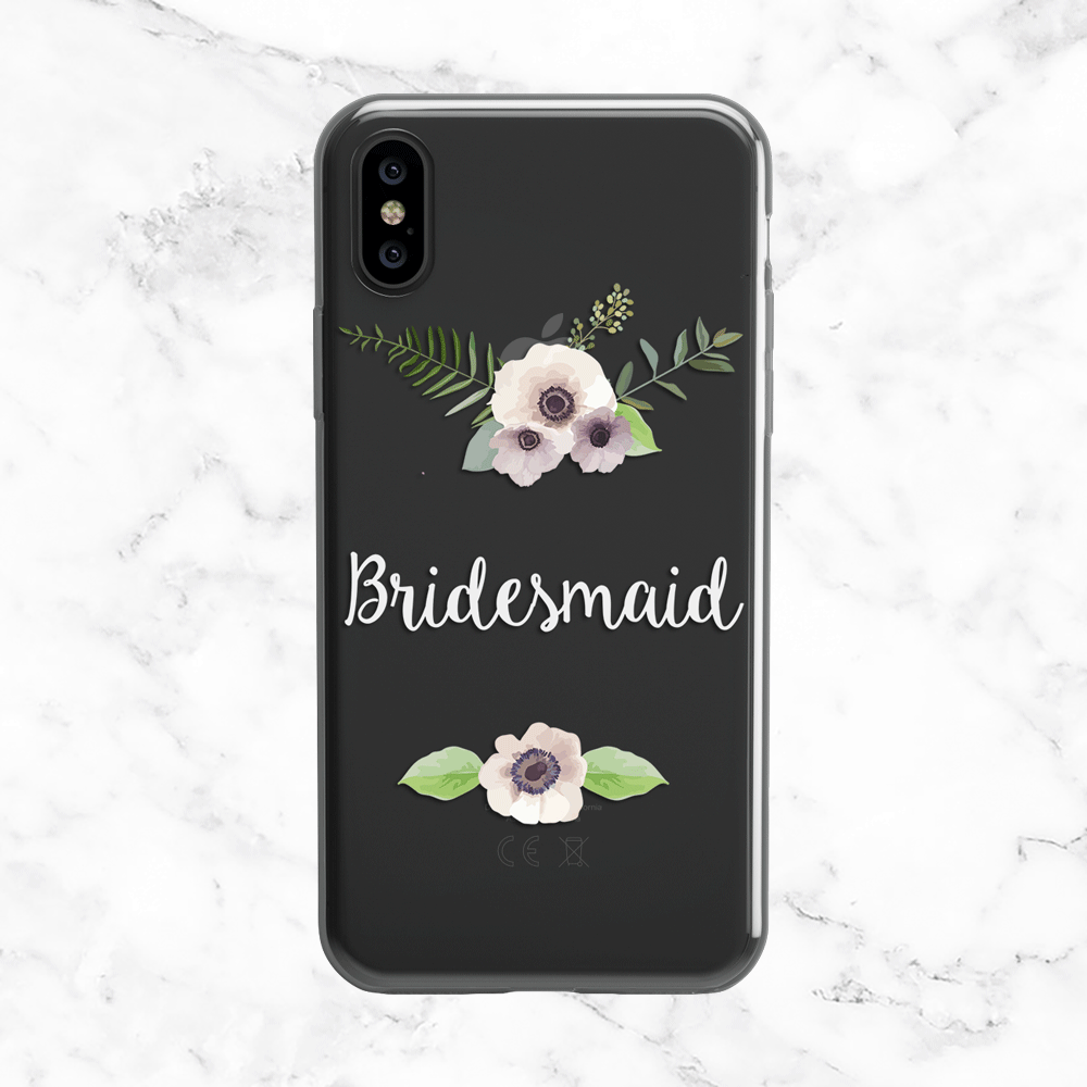 Anemone Bridesmade Wedding Phone Case