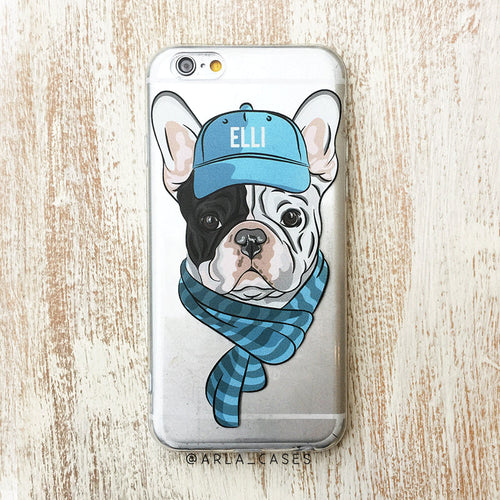Custom French Bulldog iPhone Case