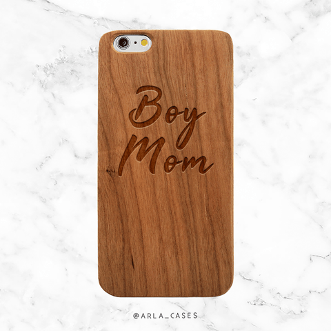 Custom Basketball Phone Case - Wood iPhone and Galaxy Case