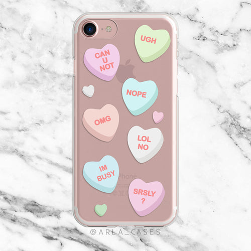 Candy Hearts Case
