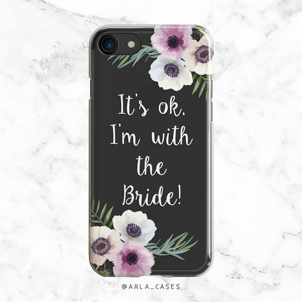 With the Bride iPhone Case