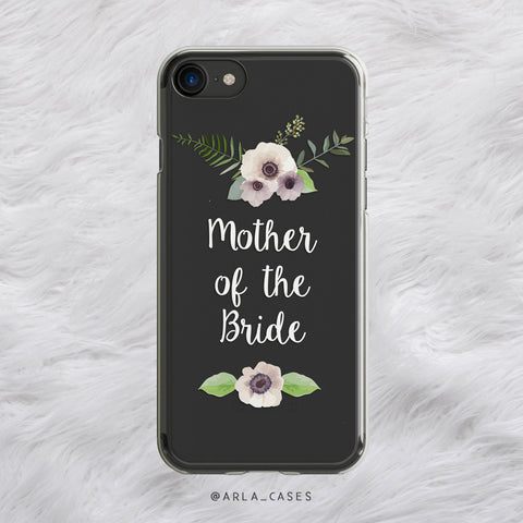 Mother of the Bride iPhone Case