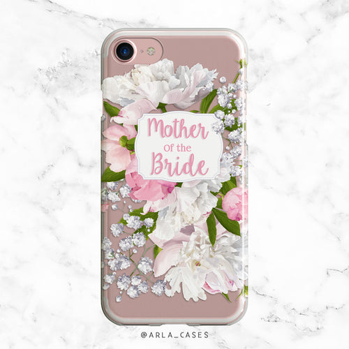 Mother of the Bride Peony iPhone Case