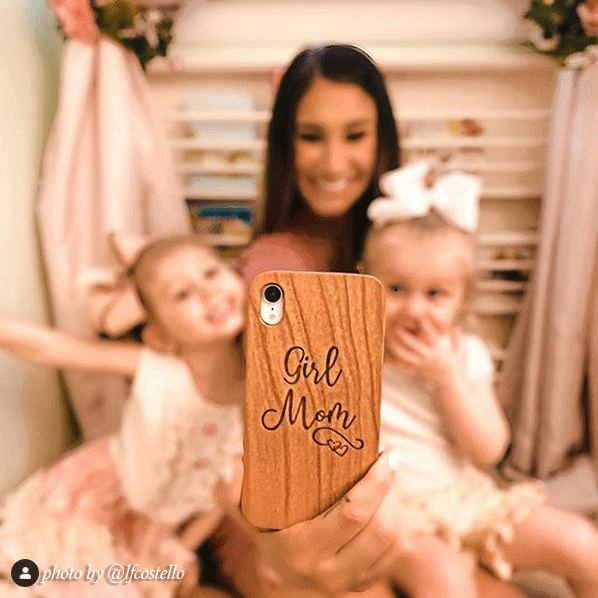 @lfcostello girl mom phone case
