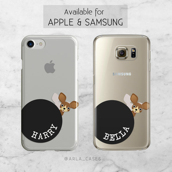 Custom Dog Name Phone Case