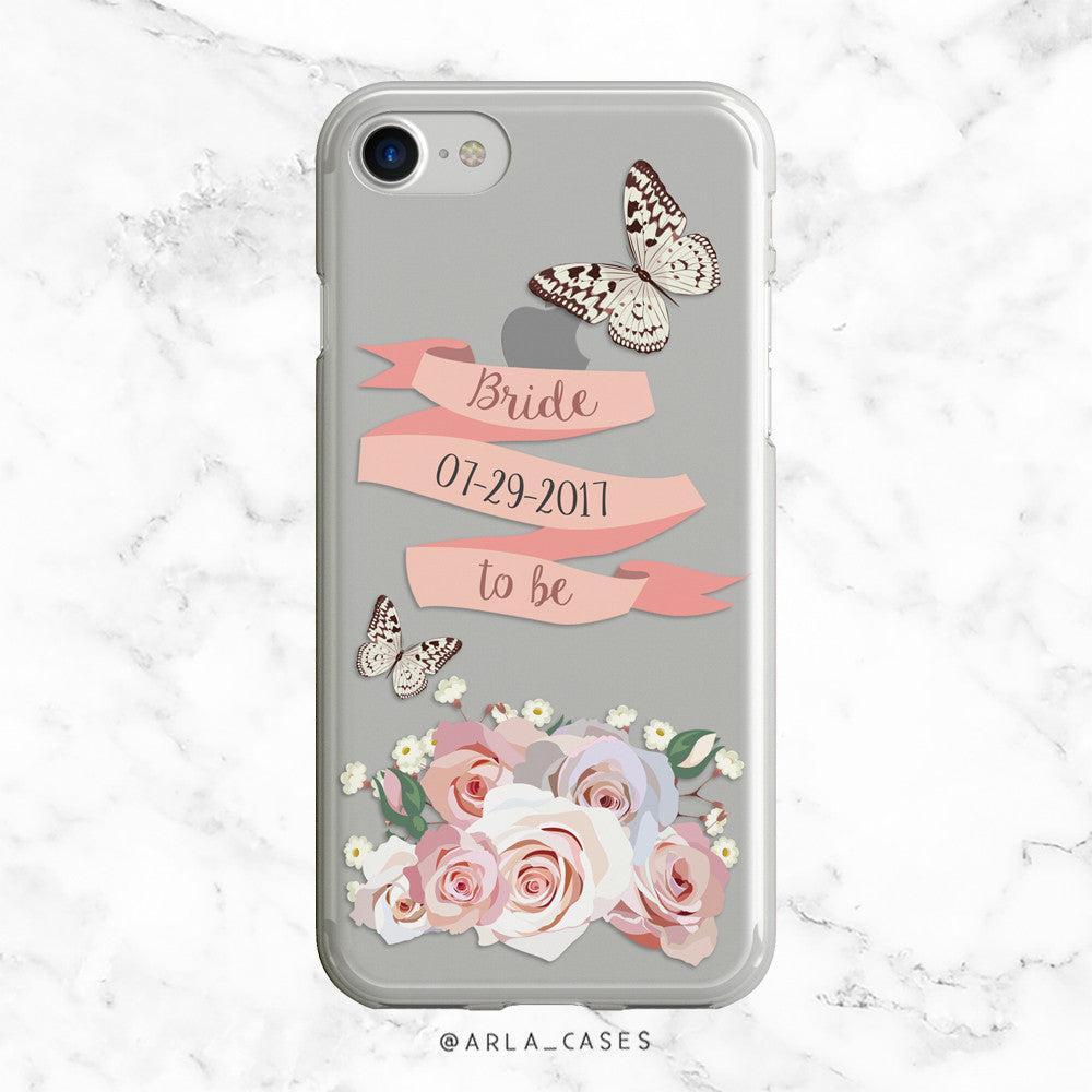 Custom Wedding Date iPhone Case