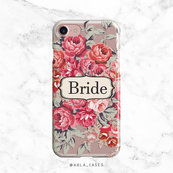 Shabby Chic Bride iPhone Case