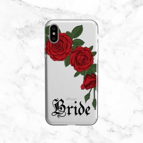 Red Roses Bride Phone Case