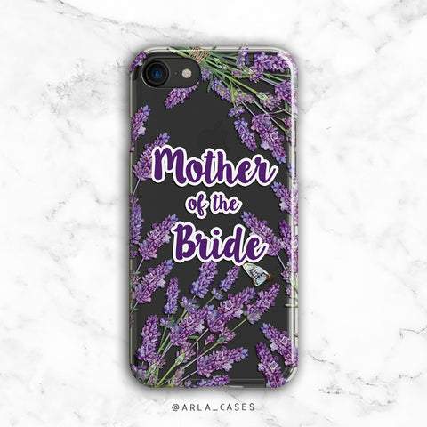 Mother of the Bride Lavender iPhone Case