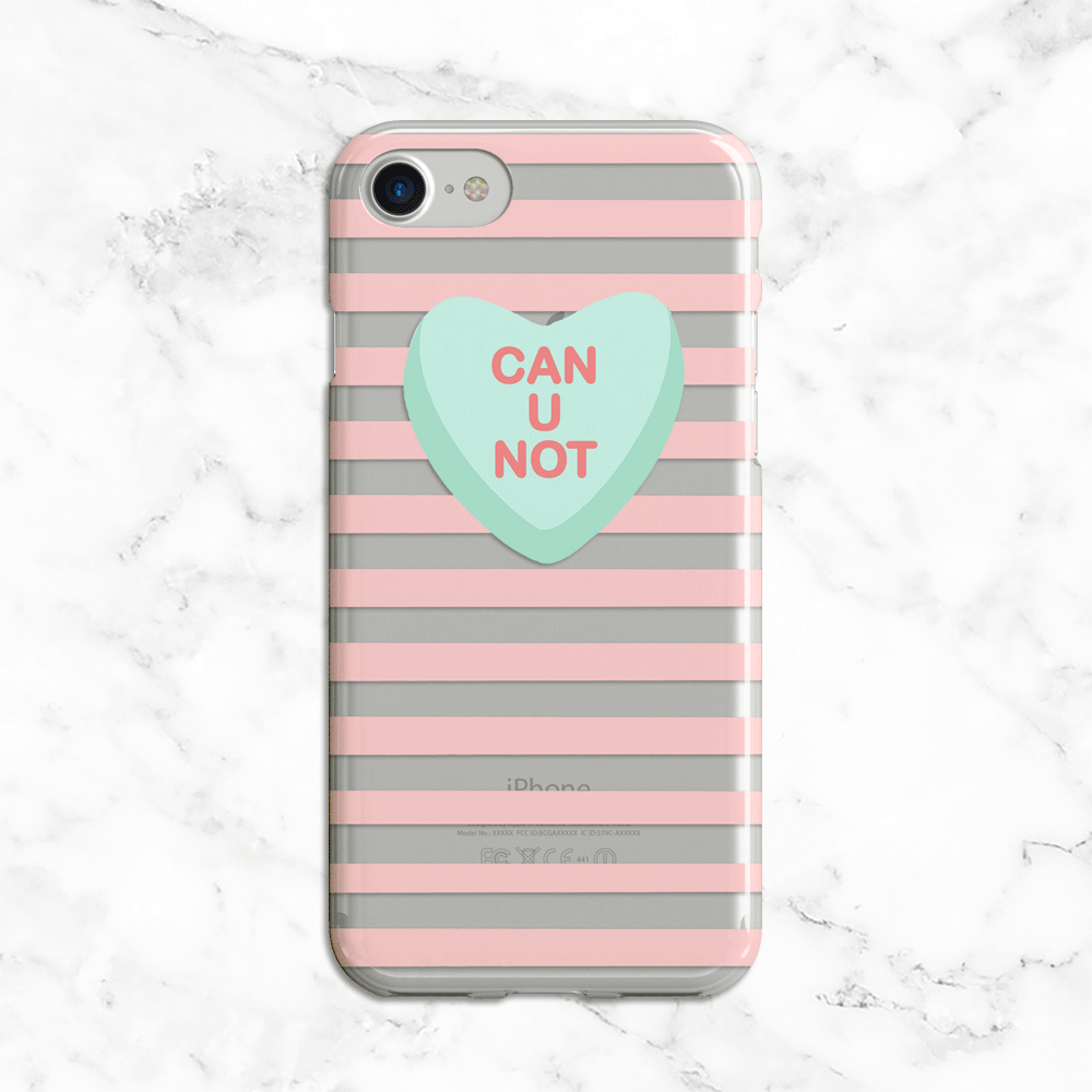 Can U Not Valentines Day Phone Case