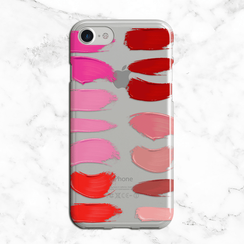 Lipstick Color Palette iPhone and Galaxy Phone Case