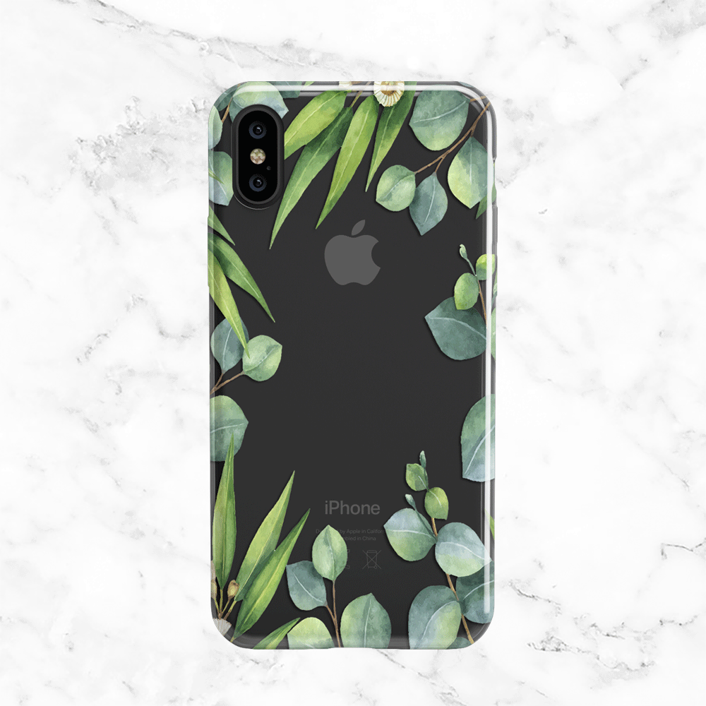 Eucalyptus Wreath iPhone X Case