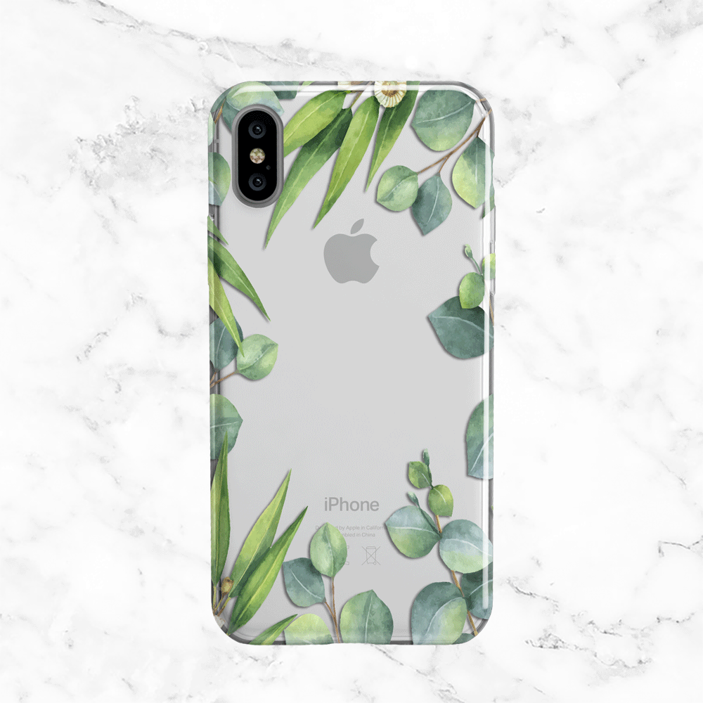Eucalyptus iPhone X Case