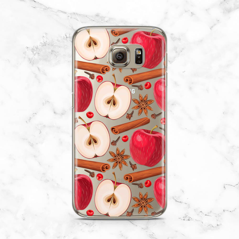 Apples and Cinnamon Samsung Galaxy Case