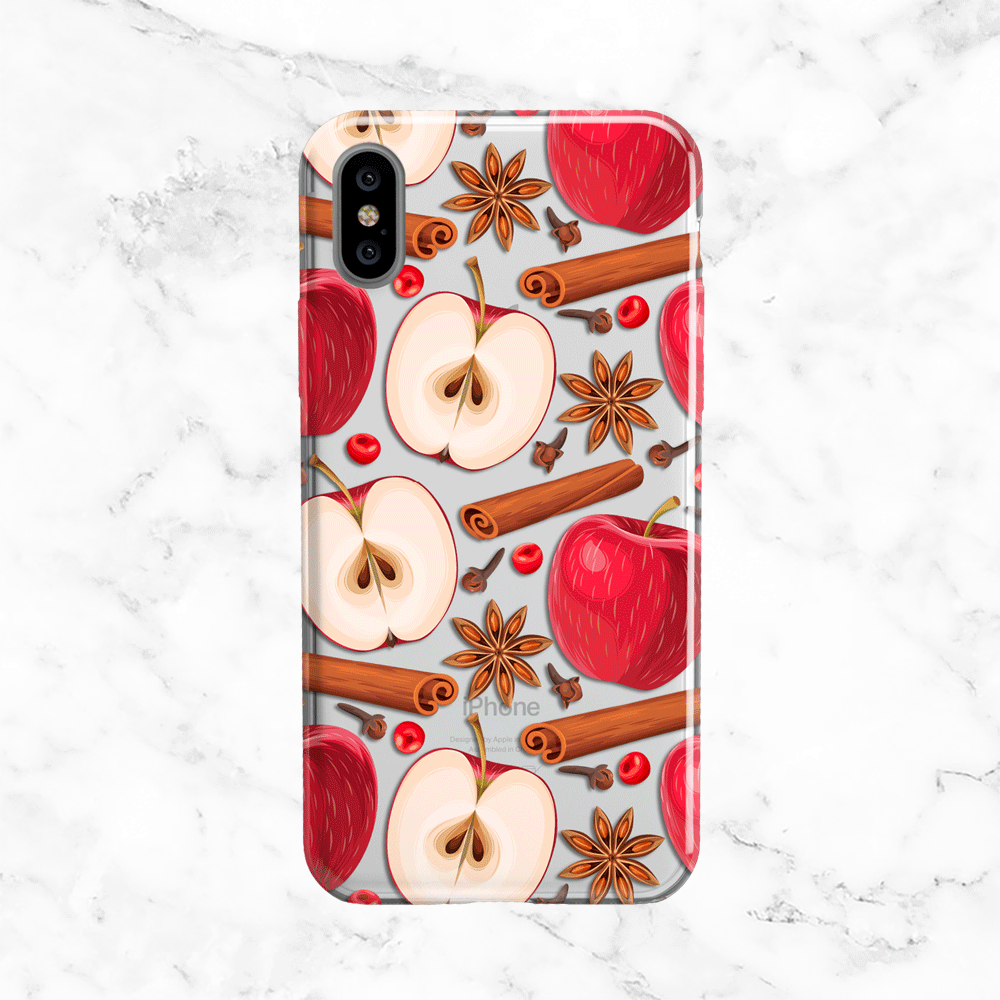 Apples and Cinnamon iPhone X Case