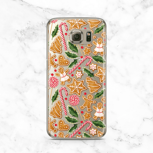 Christmas Cookies Samsung Galaxy Case