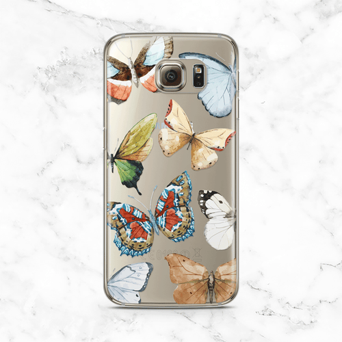 Autumn Butterflies Samsung Galaxy Case