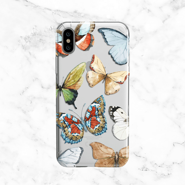 Autumn Butterflies iPhone X Case