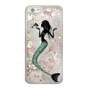 Rainbow Glitter Mermaid Phone Case