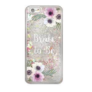 Rainbow Glitter Bride to Be Phone Case
