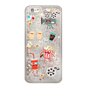 Rainbow Glitter Movie Lover Phone Case
