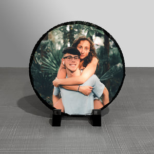 "8"" Round Photo Plaque"