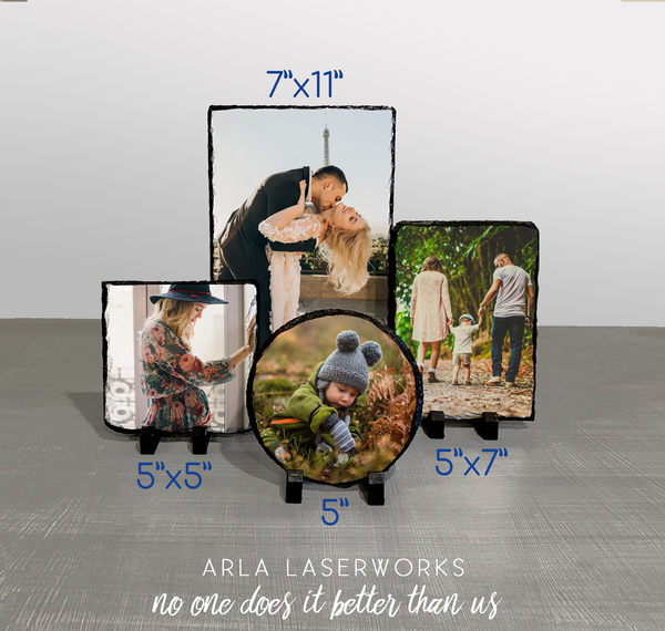 "7.5"" x 11"" Rectangle Photo Plaque"