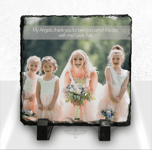 Photo Plaque with Text Bar
