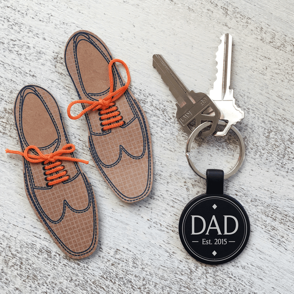 Official Dad Keychain - Personalize