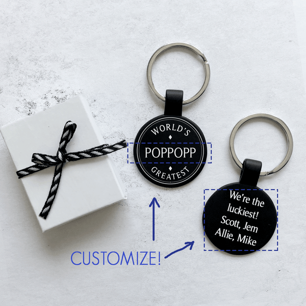 World's Greatest Keychain - Personalize