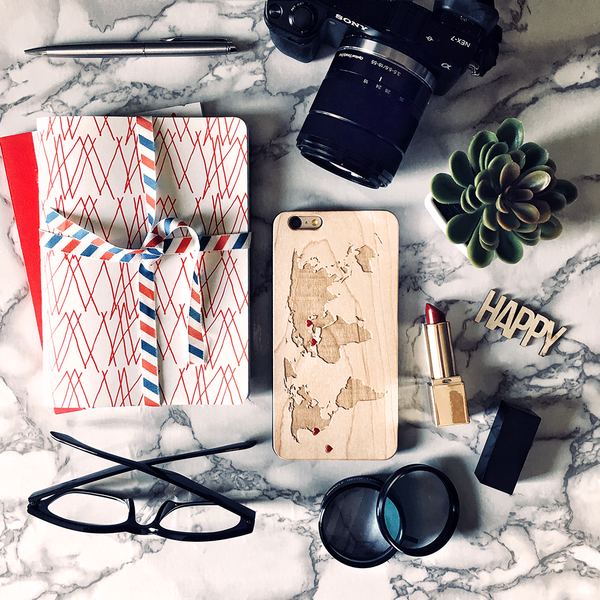 Traveler's Hearts : Custom Phone Case