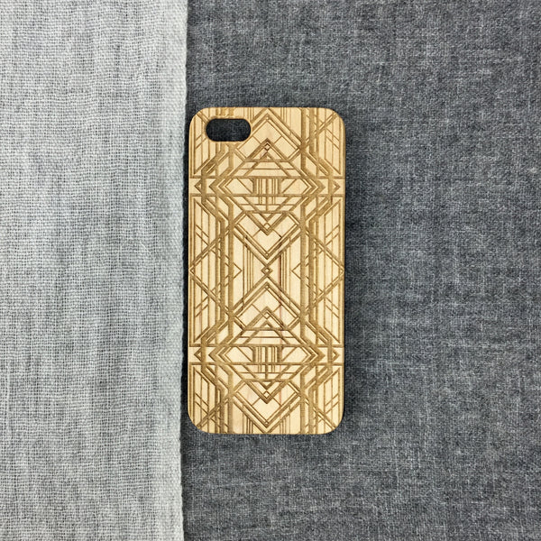 art deco diamonds iPhone Galaxy Case