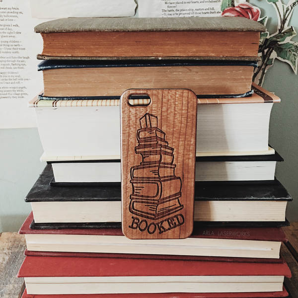 Booked Wood Phone Case