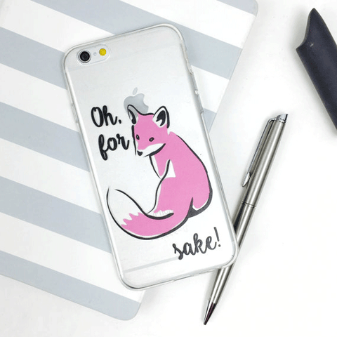 For Fox Sake iPhone Case