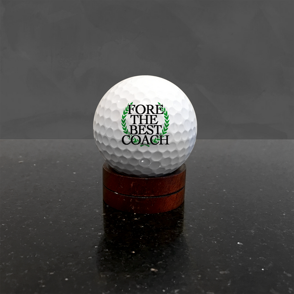Golf Coach Gift with Custom Text