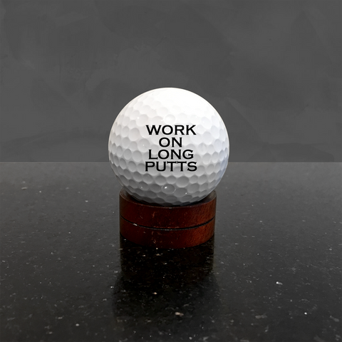 personalized text custom golf balls for men women mom dad