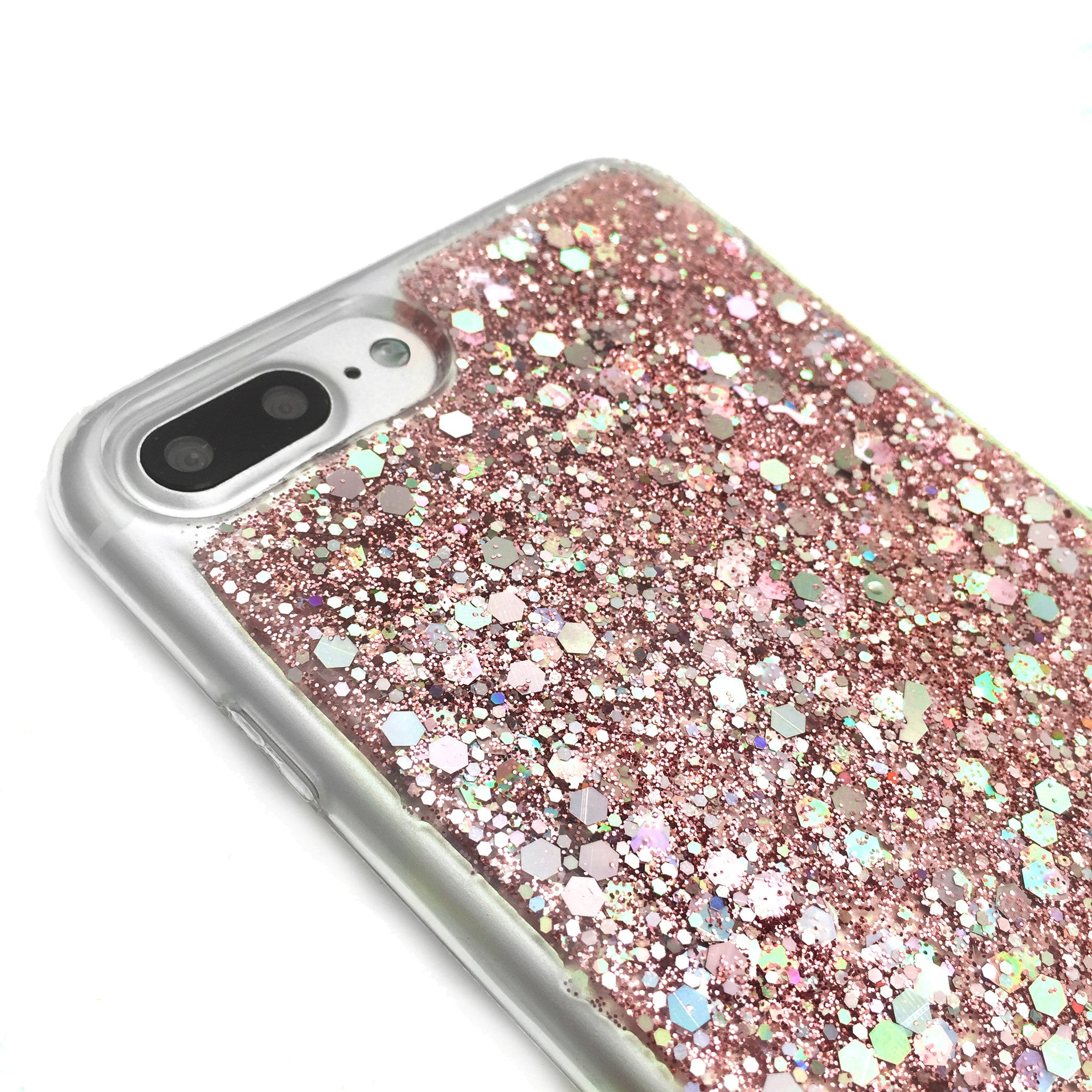 Music Note Pink Glitter Phone Case
