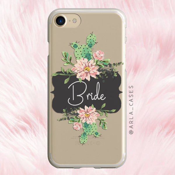 Bride Cactus iPhone Case
