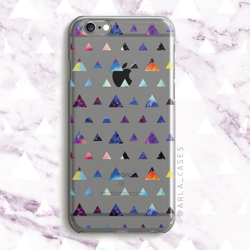 Galaxy Triangles iPhone and Galaxy Case