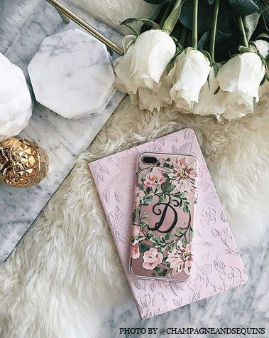 @champagneandsequins phone case