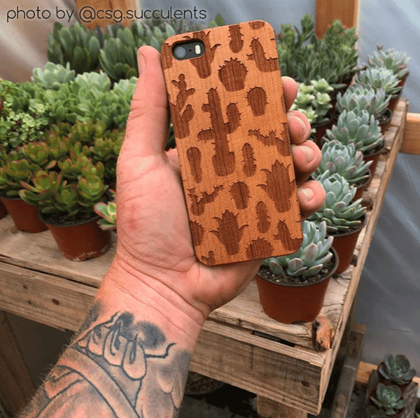 csg.succulents cactus phone case