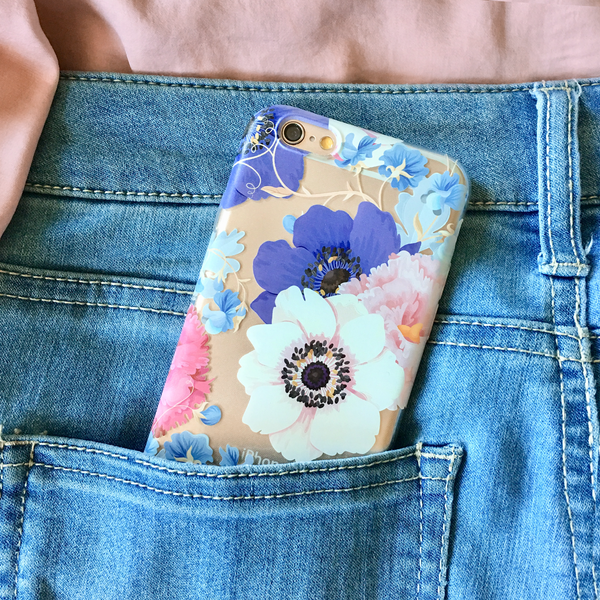 Floral Anemone iPhone Case