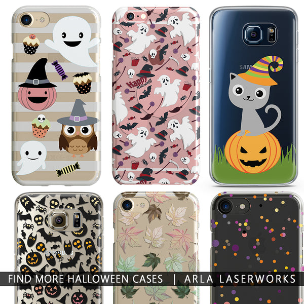 Halloween Vampire Blood Phone Case - Clear TPU Phone Case