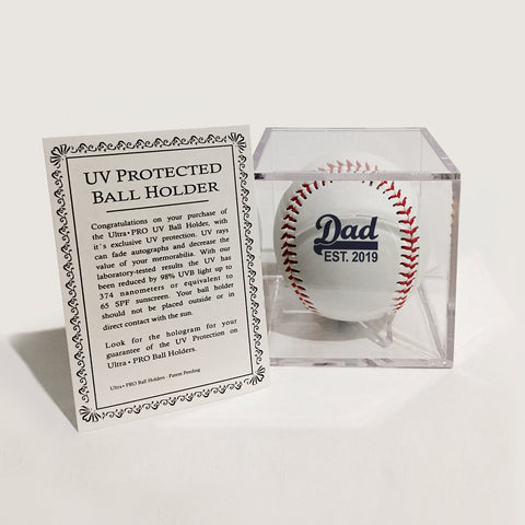 Add Baseball UV Display Box