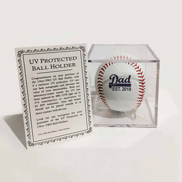 UV protected ball display box